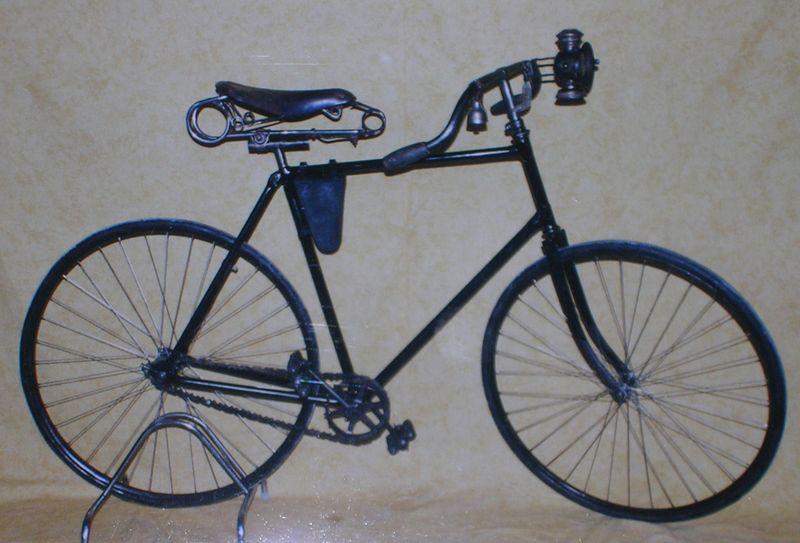 velo de course 1891