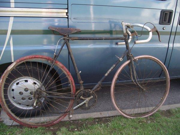 velo de course 1950
