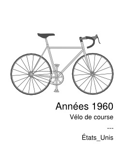 velo de course 1960 inventeur