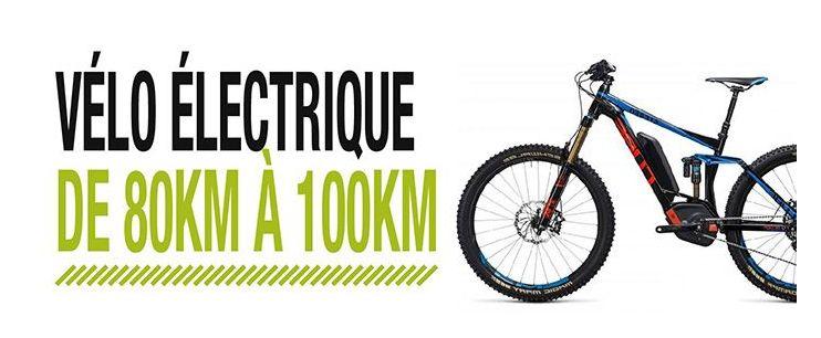 velo electrique 100 km