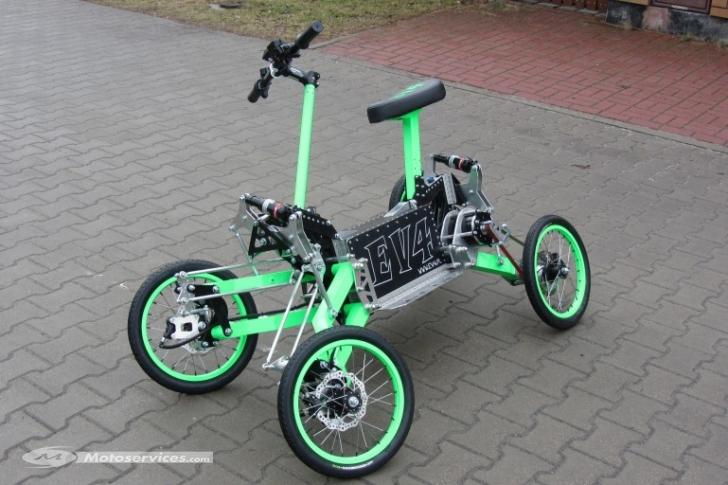 velo electrique 4 roues