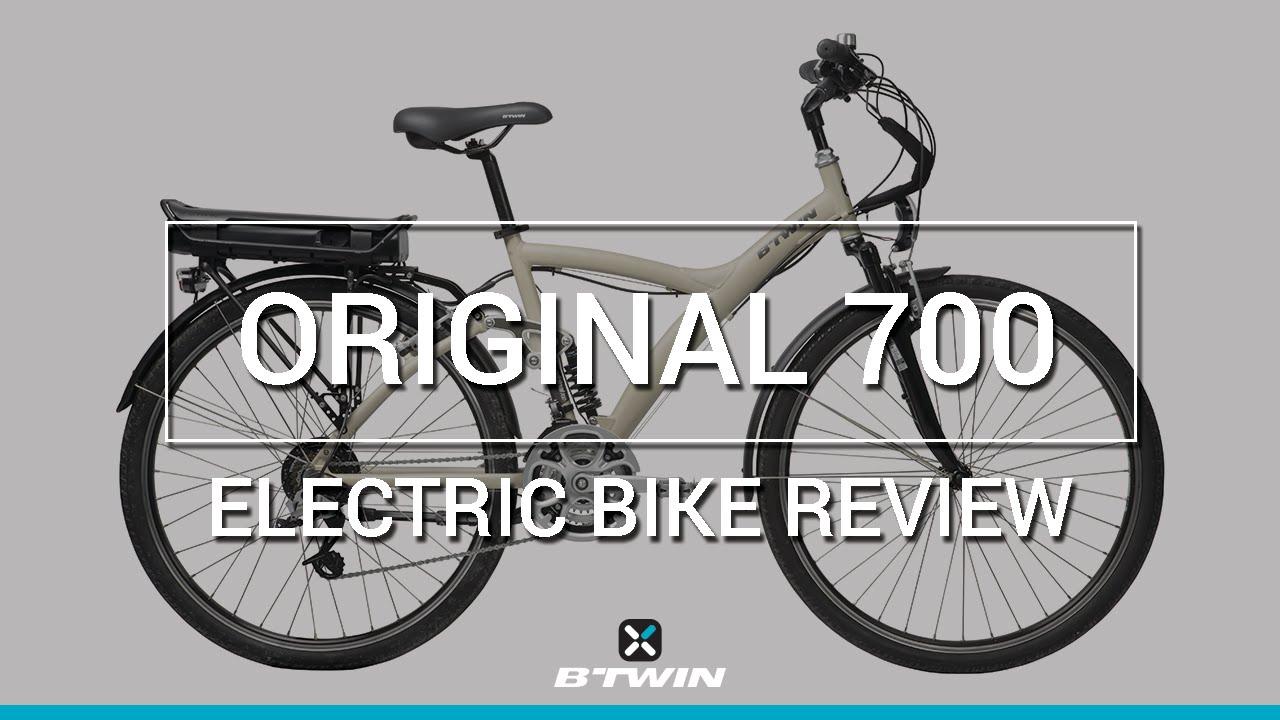 velo electrique b'twin 700