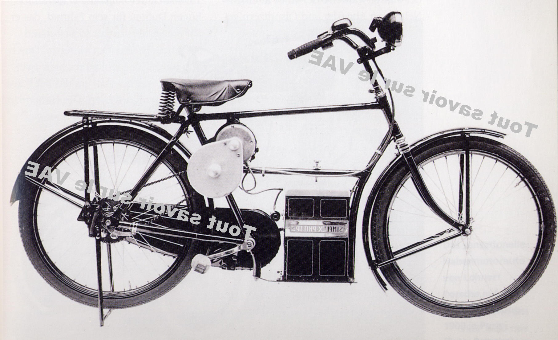 velo electrique invention