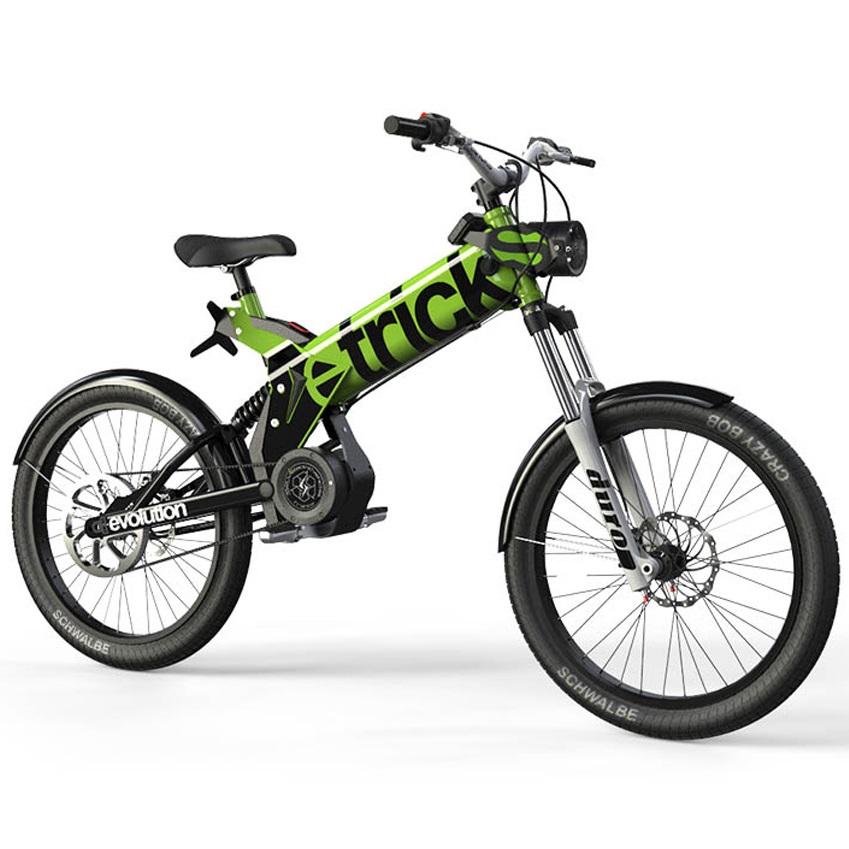 velo electrique qui ressemble a une moto