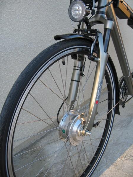 velo electrique roue avant