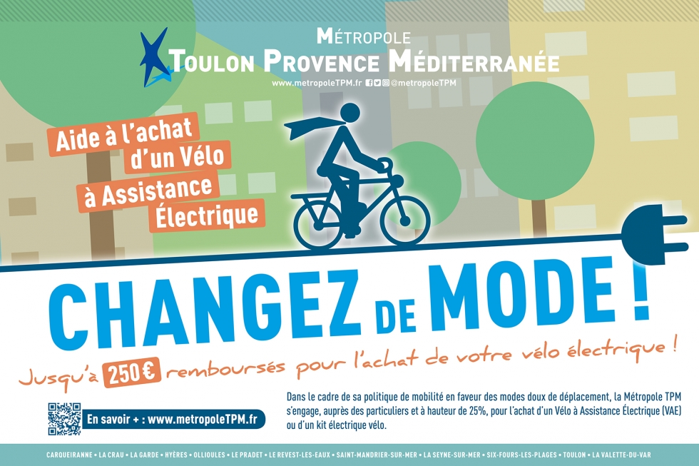 velo electrique subvention