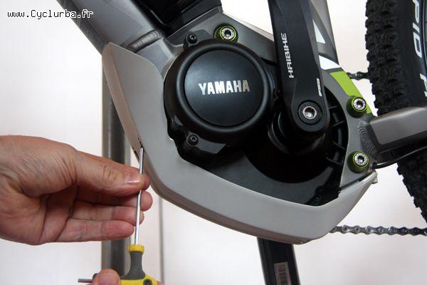 velo electrique yamaha debridage