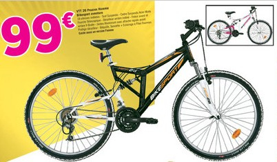 vtt 99 euros decathlon