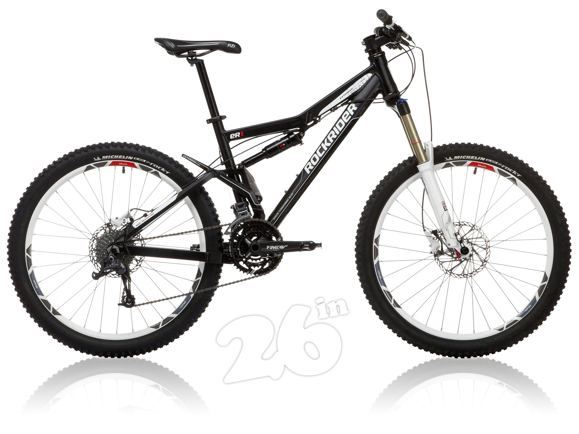 vtt b'twin rockrider