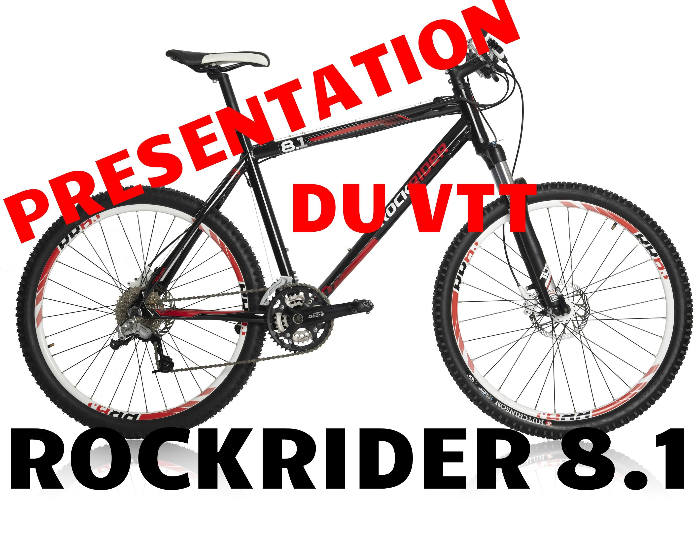 vtt rockrider 8.1
